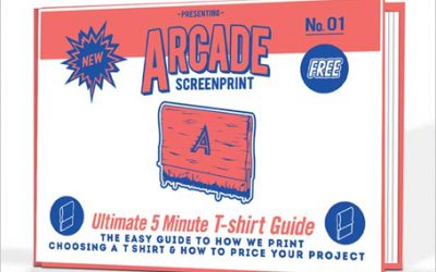 How to print T-shirts Easy ARCADE Guide