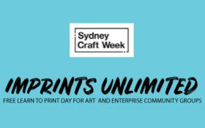 Craft Week IMPRINT Community (Free) Print Day